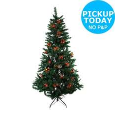 60 Holly and Berry Christmas Tree Lights - Red -From the Argos Shop on ebay £4.99 + free C&C