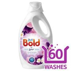 BOLD 2in1 with Lenor laundry liquid 60 washes £5.99 at B&M
