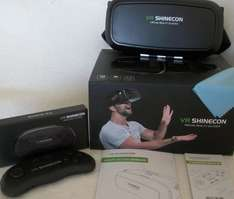 VR Shinecon Virtual Reality Headset £2.99 B&M IPHONE/ANDROID COMPATABLE