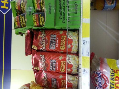Butterkist Sweet & Salted Popcorn - 39p instore @ Heron Foods