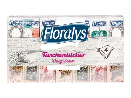 Floralys pocket tissues, design edition, 4-ply. 84 packs of ten. £2.99! instore @ LIDL Dewsbury