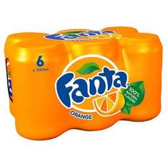 6 Pack of soft drinks  Fanta, Sprite, Dr Pepper Sprite, Lilt Zero. Was £3.21 Now £1.73 @ Morrisons Online/Instore.