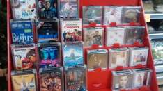 3 for £20 Chart DVDs, CDs and Books (Different Titles to ASDA) @ Morrisons (in store)