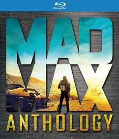 Mad Max Anthology [Blu-ray + HDUV] £12.99 in store and online @ Hmv (£13 in Fopp)