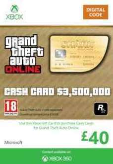 £40 Xbox Live credit for £35 @ Game
