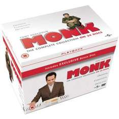 Monk The Complete Collection [DVD] £19.99 @ Zavvi