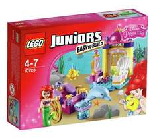 LEGO Juniors Disney Princess Ariel's Dolphin Carriage  (was £12.99) Now £8.49 + FREE watch worth £9.99 at Argos
