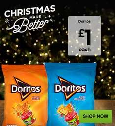 Doritos and Dips for for only £1.00 each  at ASDA all flavours