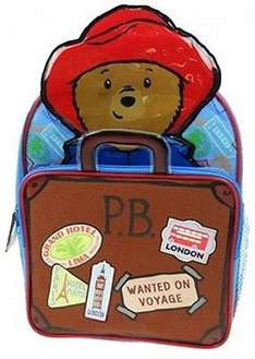 Paddington Bear 10 Litre Rucksack (add-on item) £3.95 @ Amazon (Sold by laylawson® and Fulfilled by Amazon)