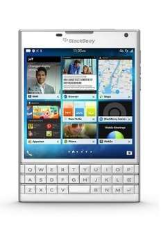 Amazon Marketplace BlackBerry Passport 4.5-inch SIM-Free Smartphone - White £189.99 Sold by SAI Sales and Fulfilled by Amazon
