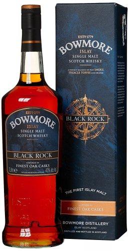 Bowmore Black Rock Whisky 100cl 1Litre Bottle 35.97 delivered @ Amazon