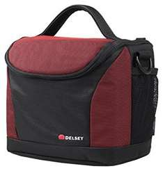 Delsey Gopix II 170 Holdall for Camera Black/Red - £5.99 @ Amazon (£10.74 Non-Prime)
