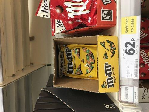 M&M's Peanut Share Bag 300g 62p instore @ Tesco