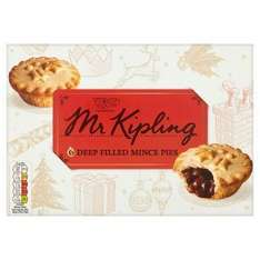 Mr kipling mince pies 2 for £2 at one stop