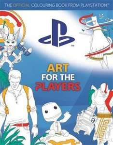 Art for the Players: The Official Colouring Book from Playstation £6.96 Delivered @ The Wordery (£6.98 via Amazon/£6.99 With Prime)