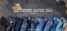 All Jeans £20 Online only Burton (+ £3.95 Del for Orders under £30)