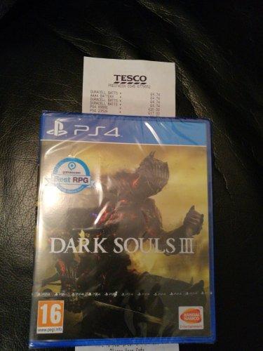 Dark Souls 3 PS4 ....Tesco Prestwich £17