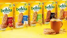 Belvita Biscuits 16 boxes - £15.99 (Prime) £20.74 (Non Prime), effectively £1/box (6 pks within) @ Sold by Biblegifts and Fulfilled by Amazon