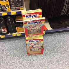 10p only. Milky Bar advent calendars @ B&M in store.