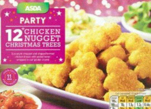 Christmas chicken nuggets - £1 @ ASDA