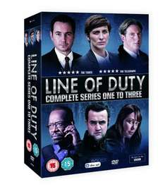 Line Of Duty: Series 1-3 [DVD] £16.99 (Prime) or £18.98 Non-Prime or free delivery if you spend £20 @ Amazon
