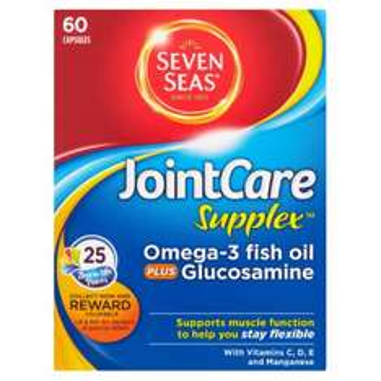 Seven Seas Joint Care Supplex omega 3 fish oil and glucosamine £1 at Poundworld