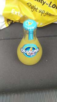 Orangina Light 5x GLASS bottles £1 - Heron
