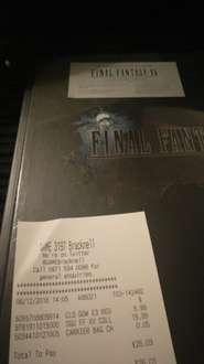 Final Fantasy XV Collectors Edition Official Guide £19.99 from GAME Online and In-store