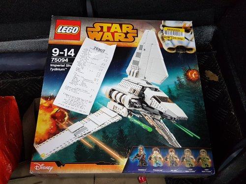 LEGO 75094 Star Wars Imperial Shuttle Tydirium £25 @ Tesco instore