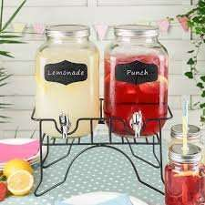 Twin Drinks dispensers and stand back down in price £9.99 @ The Range