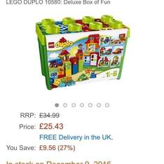 Lego duplo deluxe box of fun @amazon