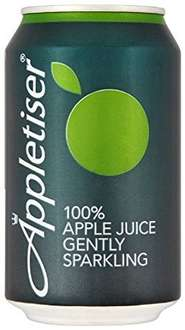 Appletiser 24 330ml cans £8.38 at Costco