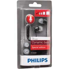 Philips In Ear Headset Black £1.99 (£6.48 delivered) @ MandM Direct (Free delivery on £75+ Spend)