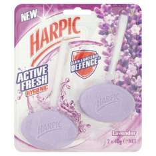 Harpic Active Fresh Toilet Blocks Lavender or Lemon £1 @ Morrisons were £1.96