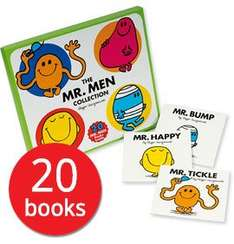 20 Mr Men books £9.99 + £2.95 postage The Book People