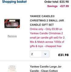 Boots Yankee candle glitch - £25.98