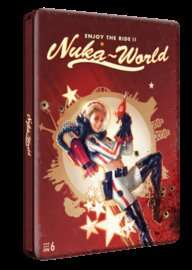 Nuka World (Fallout 4) Steelbook Case back in stock £4.99 @ Game