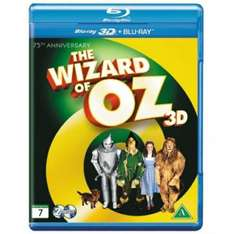 The Wizard of Oz 75th Anniversary Edition 2D/3D Blu Ray £6.99 delivered @ 365 Games