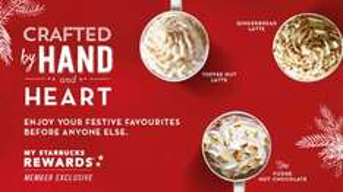 Starbucks Reward members - tall latte and Swedish Cinnamon or Almond Bun for £3.50