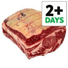 Counter Tesco British Beef Bone In Rib Joint Half price was £19.00 now £9.50 Kilo