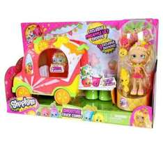 Shopkins shoppers juice bar truck with doll £18.99 C&C Argos
