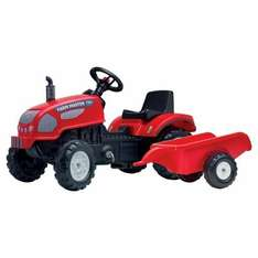 Falk Pedal Tractor And Trailer Ride on £30 instore & online @ Tesco Direct