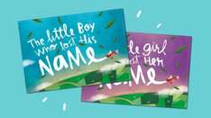 The Little Boy Or Girl Who Lost Their Name, personalised book £19.99 delivered