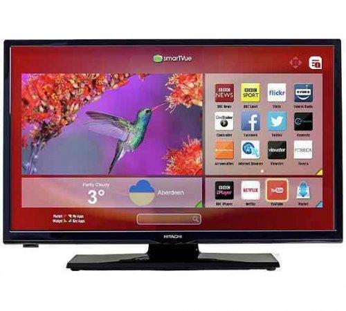 "Hitachi 24"" smart tv/dvd combi.At Argos"