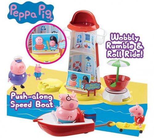 Peppa Pig Lighthouse Mega Set - £10.00 @ Argos (was £29.99)