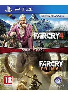 Far Cry Primal and Far Cry 4 Double Pack PS4 - Base.com - £34.59