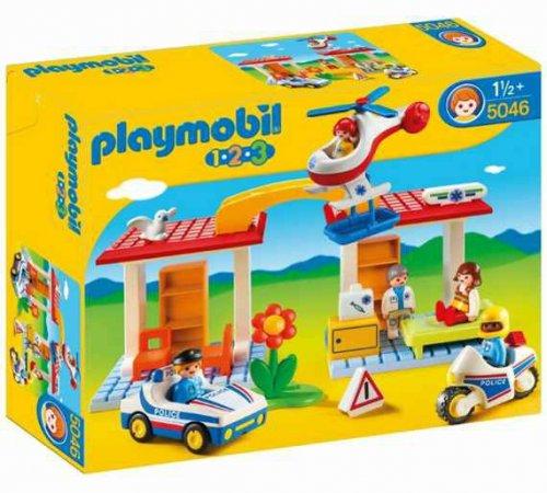 Playmobil 123 Police and Ambulance Playset - 5046  £12.99 @ Argos