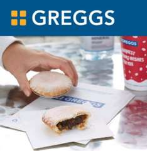 free mince pie with reward app @ Greggs