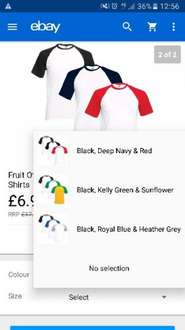 3 pack of T-shirts  £6.99 was £17.99 @ absolutecult ebay