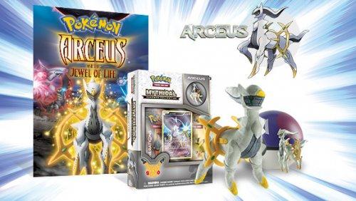 Mythical Pokémon Arceus Free as part of the Pokémon 20th celebration